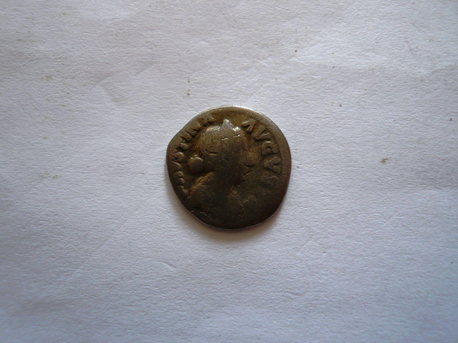 Denár, Faustina Augusta, manželka Marca Aurelia, 147-175, Řím-císařství