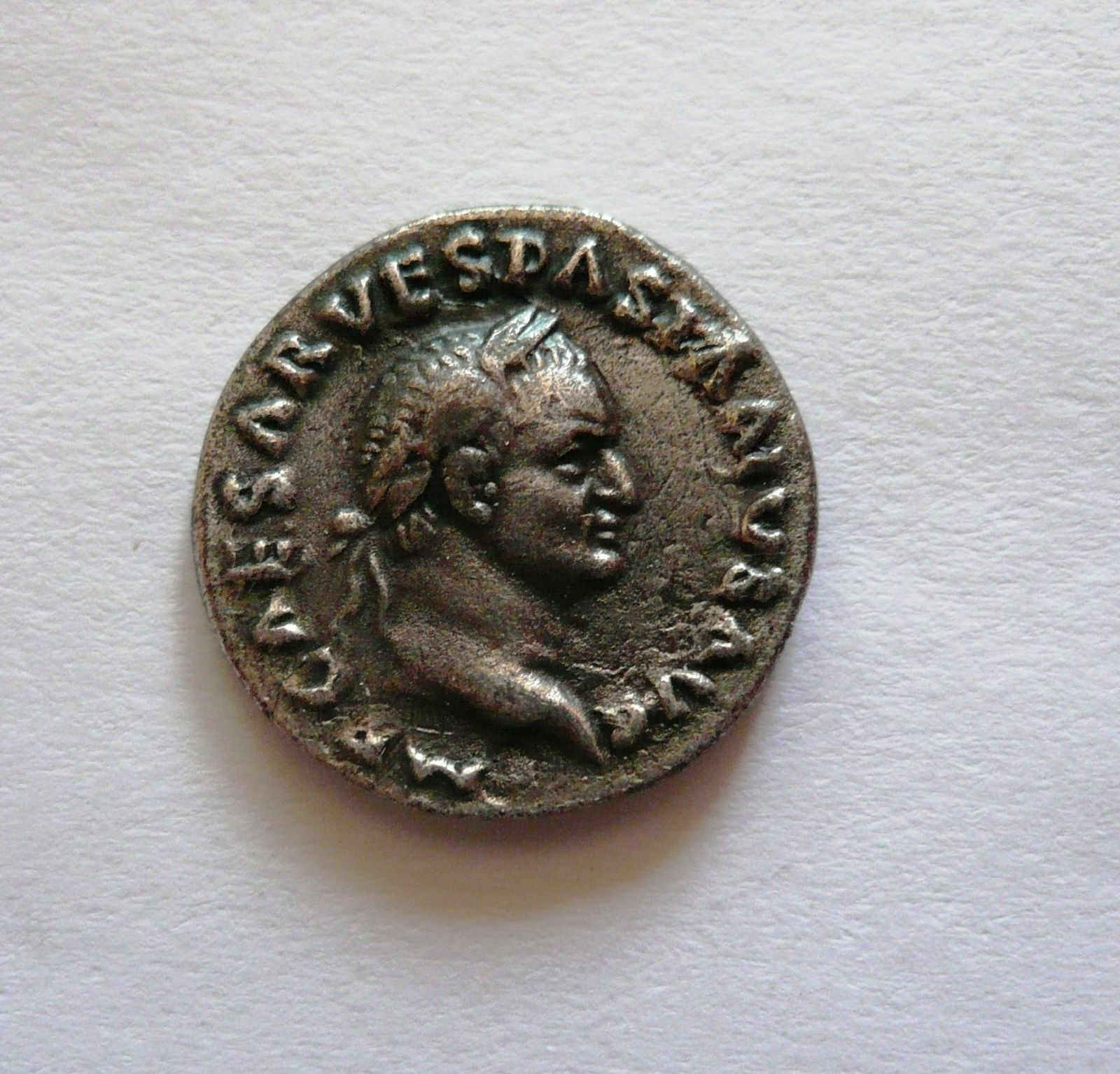 Denár, Vespasianus, 69-79, KOPIE, Řím-císařstsví