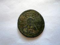 Follis, ?36, Jan I., 969-976, poprsí Krista