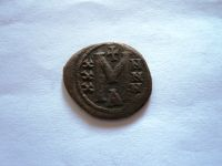 Follis, Lev V., 813-820, mincovna Constantinopolis, Byzanc