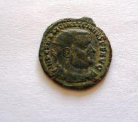 Follis, stojící Jupiter s Niké, Licinius I., 308-24, Řím-císařství
