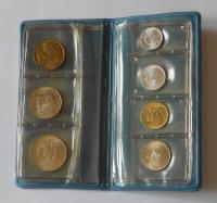 Ročníková sada mincí ČSSR(1980 - modrý obal), stavy 0/0