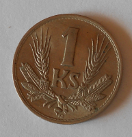 Slovensko 1 Koruna 1940, stav