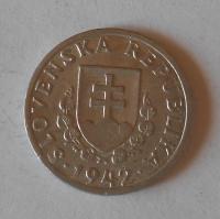 Slovensko 20 Haléř 1942