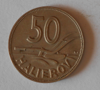 Slovensko 50 Haléř 1941 Cu