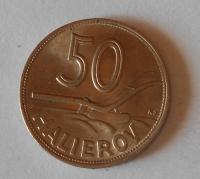 Slovensko 50 Haléř 1941 Cu, stav