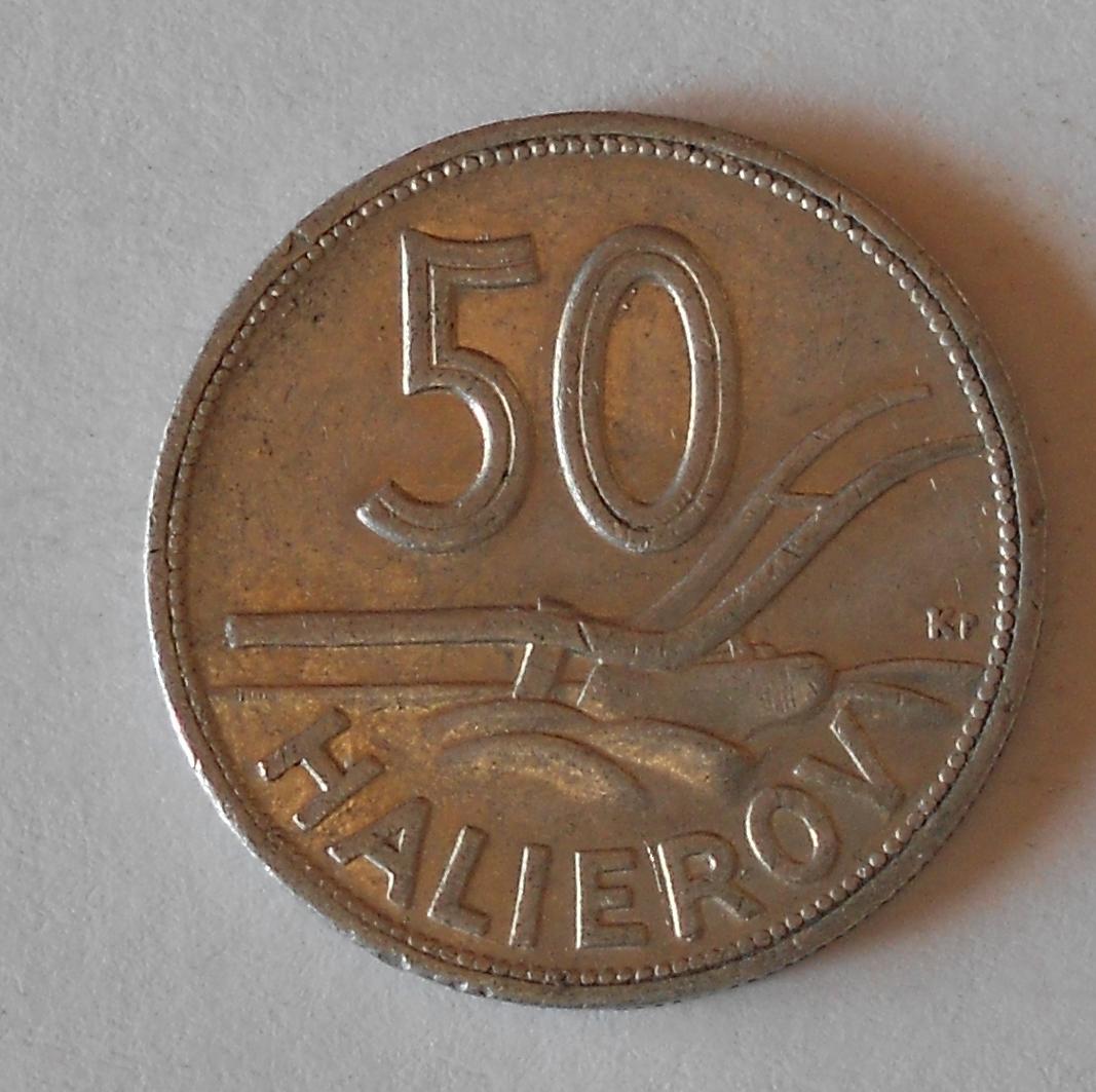 Slovensko 50 Haléř 1943 Al