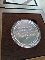 Titulární medaile Ing., Ag 999-42g, stav PROOF, dřevěná etue a certfikát