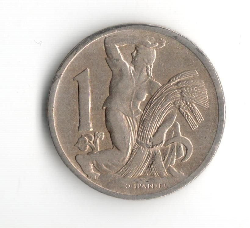 1 Kč(1922), stav 1+/1+