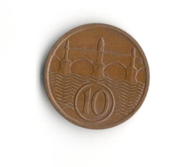 10 Haléř(1935), stav 0/1+ dr.hr.