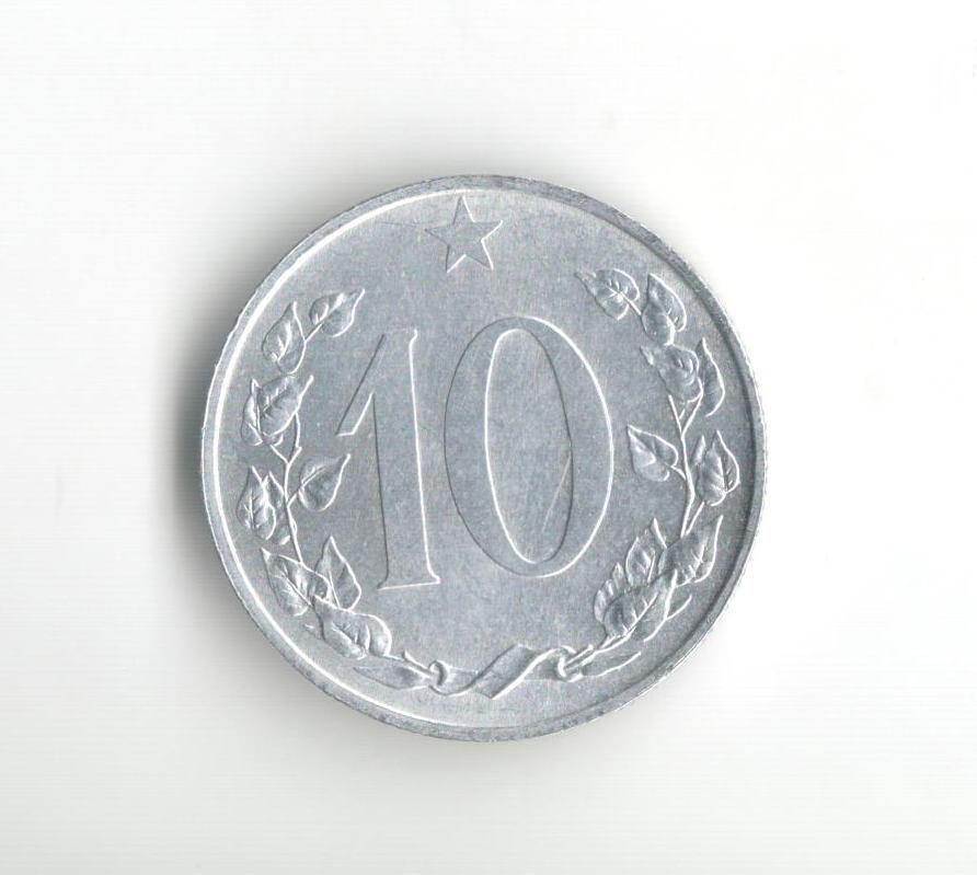 10 Haléř(1953), stav 1+/0, Kremnica