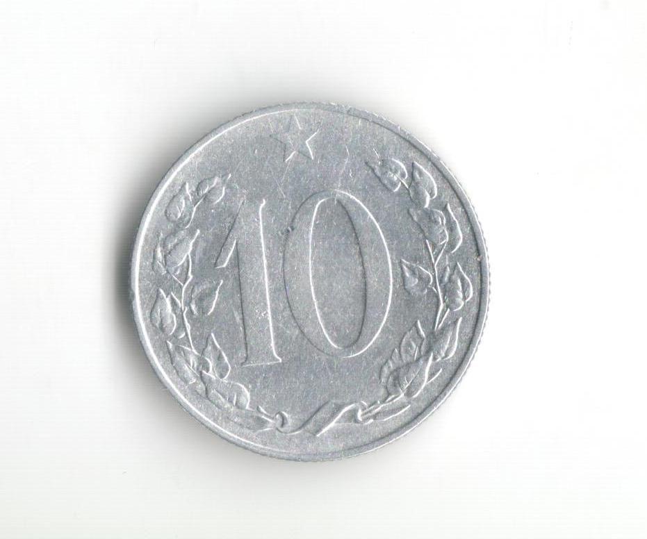 10 Haléř(1956), stav 1+/1