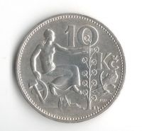 10 Kč(1932-Ag 0,700-10g), stav 0/1 dr.hr.