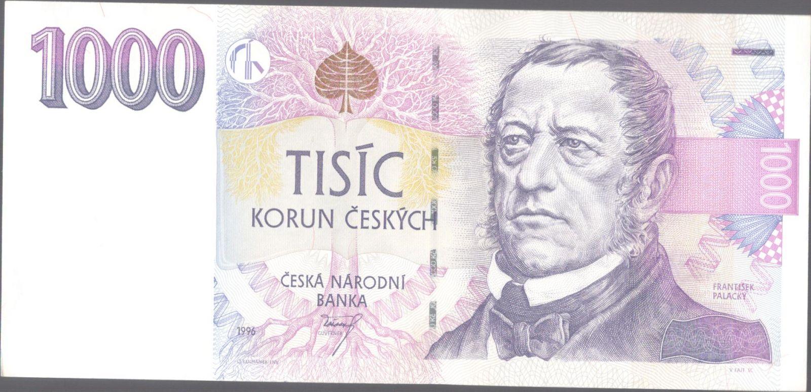 1000Kč/1996/, stav 0, série C 65