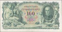 100Kč/1931/, stav 1+, série M, pěkný hlubotisk
