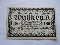 180 Heller, nouzovka, 1920, Rakousko