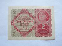 2 Koruna, 1922, Rakousko
