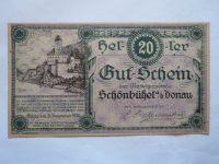20 Heller, nouzovka, 1920 Rakousko