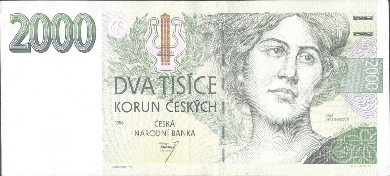2000Kč/1996/, stav 2+, série A 07