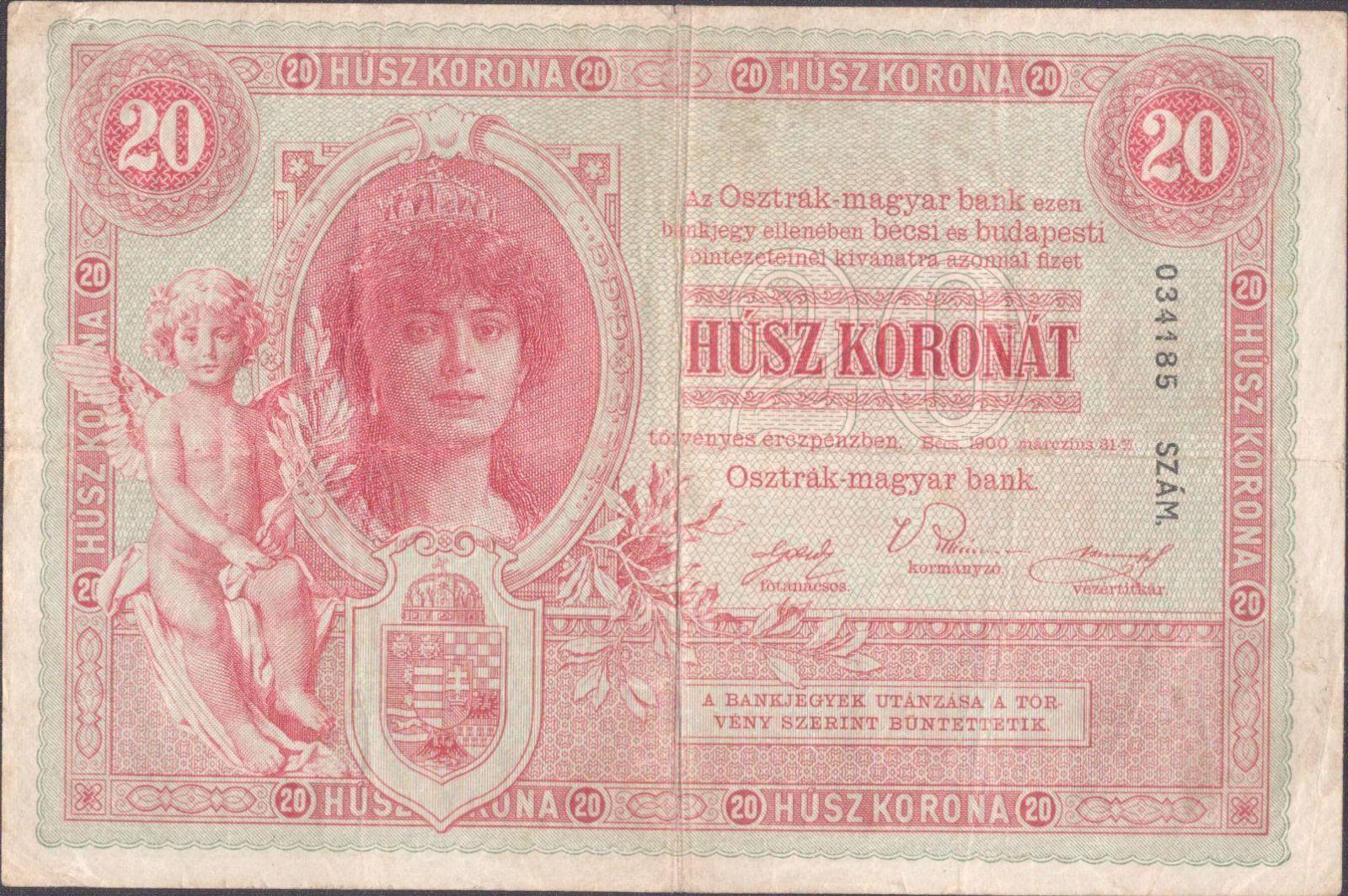 20K/1900/, stav 3, série 2068