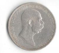 5 Korun(1908-60.výročí vlády FJ I.), stav 1/1 dr.hr.