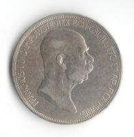5 Korun(1909-ražba bz), stav 1/1- dr. hr.