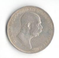 5 Korun(1909-ražba bz), stav 1/1+ dr.hr.