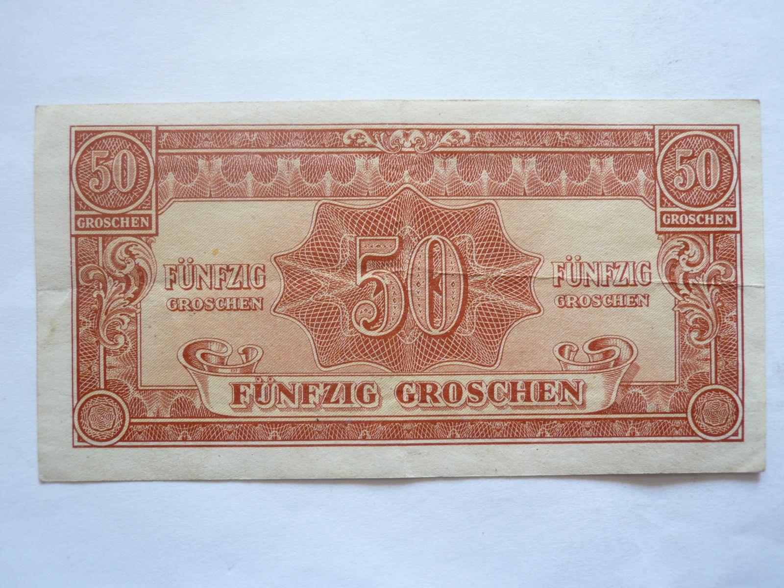 50 Groš, 1944, Rakousko