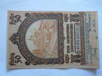 50 Heller, nouzovka, 1920,  NOTGELD Rakousko