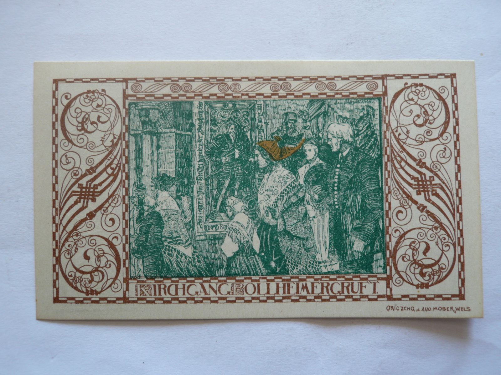 90 Heller, 1921, Rakousko