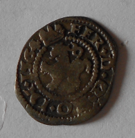 Čechy Bílý Peníz 1564 Ferdinand I.