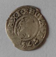 Čechy Bílý Peníz 1573 Maxmilián II., jednostranný