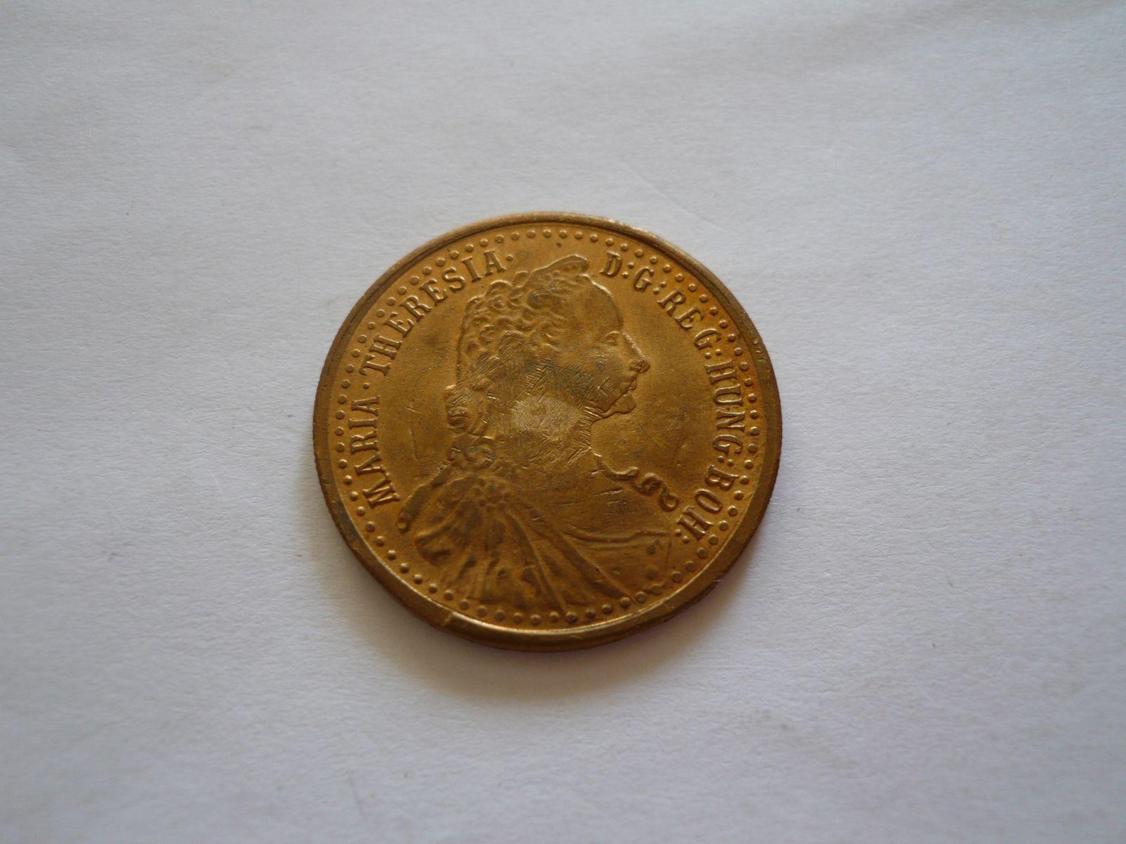 dukátová medaile Marie Terezie, Rakousko