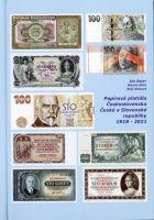 Katalog a ceník papírových platidel Československa, ČR  a SR 1918-2021, Bajer-Klim-Kohout