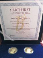 Ročníková sada mincí 6x 20Kč ČR (2018/2019-Rok měny), stavy PROOF, dřevěná etue a certifikát