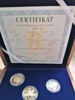 Ročníková sada mincí ČR (2019), stavy PROOF, dřevěná etue a certifikát