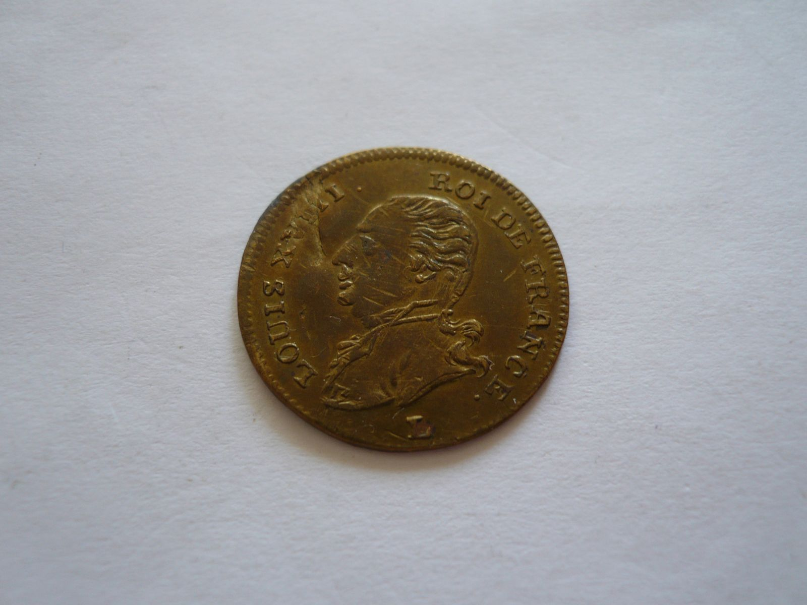 žeton Ludvík XVIII. Francie