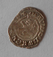 Čechy Bílý Peníz 1576-1608 Rudolf II.
