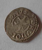 Čechy Bílý Peníz 1587 Rudolf II., jednostranný