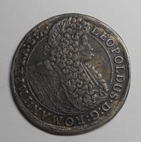Čechy – Praha Tolar 1696 Leopold I., muzeální kopie