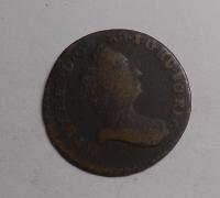 Rakousko 1 Pfenik 1765 Marie Terezie