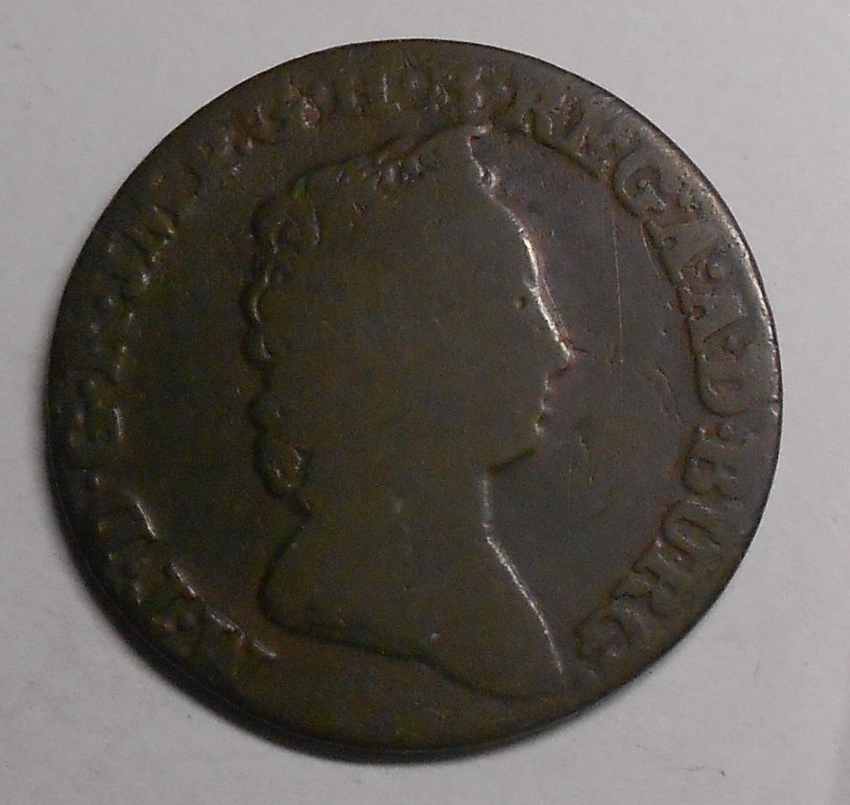 Rakousko 2 Liard 1750 Marie Terezie