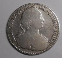 Rakousko – Antverpy 1/4 Dukaton 1752 Marie Terezie