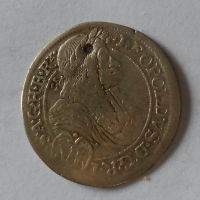 Rakousko – Gratz 6 Krejcar 1692 Leopold I., dirka