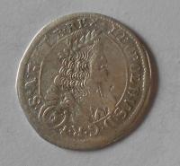 Rakousko – Sv. Vít 6 Krejcar 1675 Leopold I.