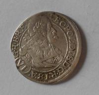 Rakousko – Vídeň 6 Krejcar 1664 Leopold I.