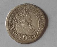 Rakousko – Vídeň 6 Krejcar 1681 Leopold I.