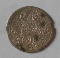 Rakousko – Vídeň 6 Krejcar 1689 Leopold I.