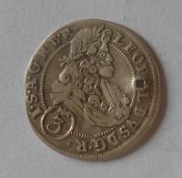 Slezsko – Břeh 3 Krejcar 1705 Leopold I., dirka