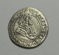 Slezsko – Vratislav 1 Krejcar 1657-1705 Leopold I.